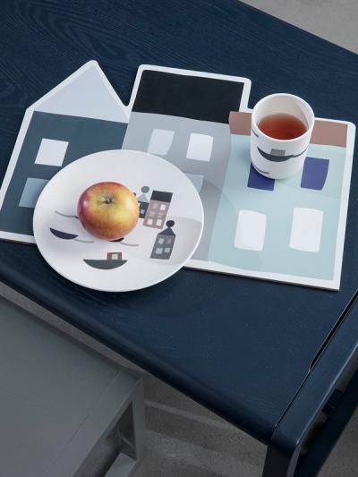 Ferm Living Little Architect Tisch, Dunkelblau