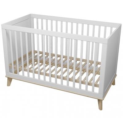 Milkii Baby- und Kinderbett Miira, 140 x 70 cm