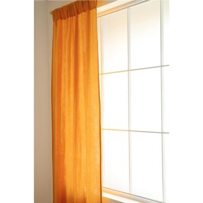 Nobodinoz Vorhang aus Musselin Baumwolle Utopia, Fariente Yellow