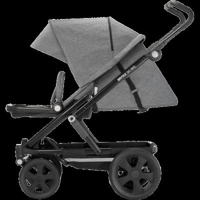 Britax Go Big Kinderwagen, Steel Grey 2018