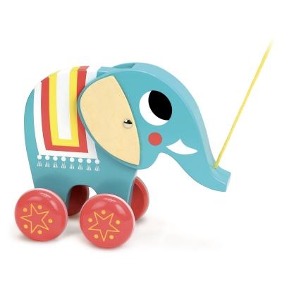 Vilac Elefant Vito Nachziehtier (Design: Ingela P. Arrhenius)