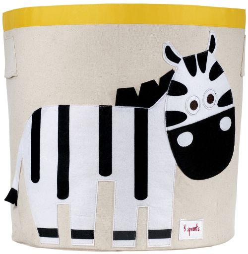 3 sprouts Aufbewahrungskorb, Zebra