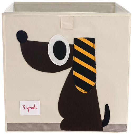 3 Sprouts Aufbewahrungsbox, Hund