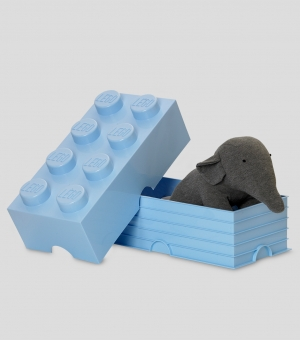 LEGO Storage Brick 8, hellblau