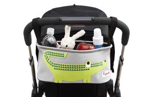 3 sprouts Kinderwagentasche, Krokodil