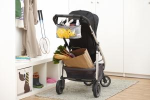 3 sprouts Kinderwagentasche, Hase