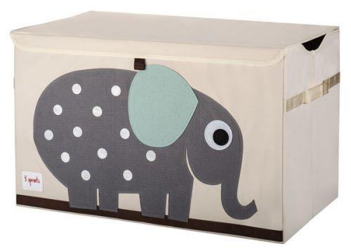 3 Sprouts Aufbewahrungskiste, Elefant