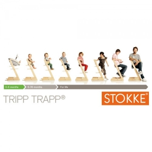 STOKKE Tripp Trapp Hochstuhl, Storm Grey