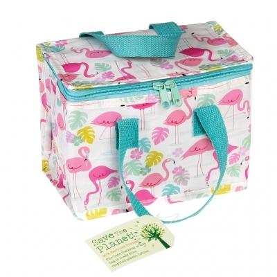 Rex London isolierte Tasche Lunch Bag - Flamingo Bay