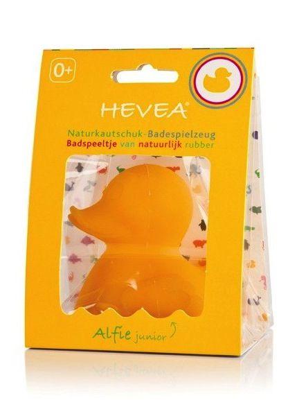 HEVEA Alfie Junior - Badespielzeug (Ente)