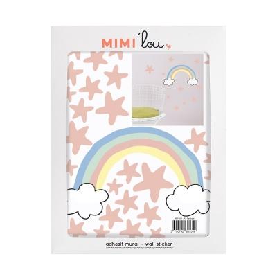 MIMIlou Wandsticker Just a Touch, Regenbogen