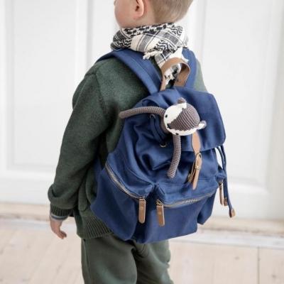 Sebra Kinder Rucksack, royal blue