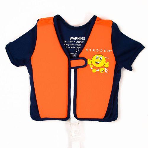 Strooem Schwimmweste für Kinder von 4-6 Jahre alt, navy/ orange