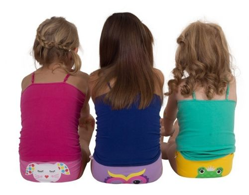 ZOOCCHINI Unterhosen 3er Set Girls aus Bio-Baumwolle - Calypso (4-5 Jahre)