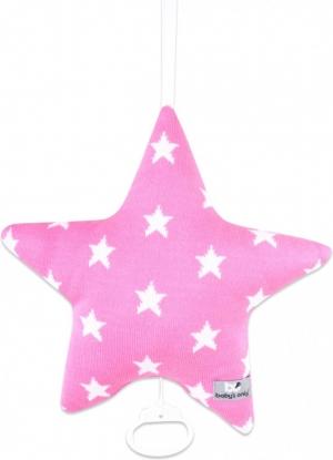 Baby`s Only Spieluhr Stern, Pink/ Sterne