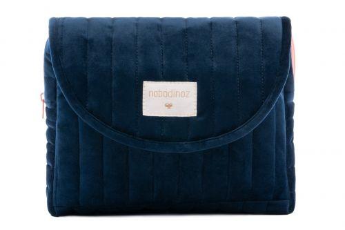 NOBODINOZ Windeltasche Savanna Maternity Case - Night Blue