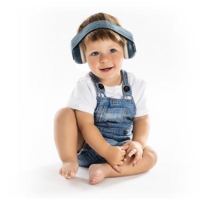 Reer SilentGuard Baby Gehörschutz (ab 3 Monate), Blau