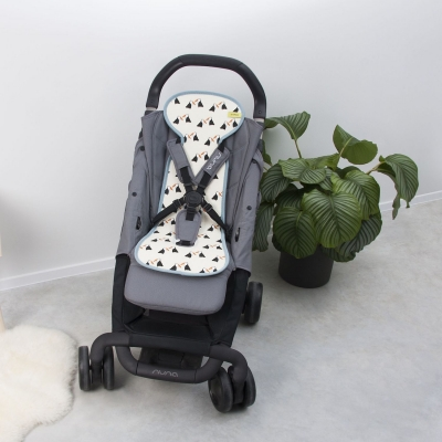 AeroMoov Air Layer, Sommerunterlage für Kinderwagen/ Buggy - Toucans