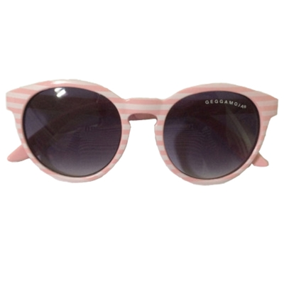 Geggamoja Sonnenbrille 1-6 Jahre, Rosa Stripes