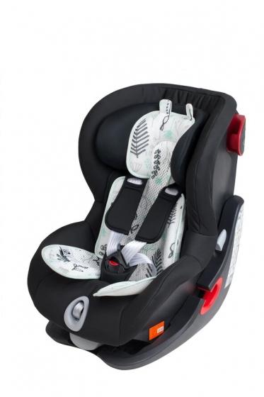 Leokid 3D Sommer-Sitzeinlage für Kindersitze und Kindewagen, Flora newborn