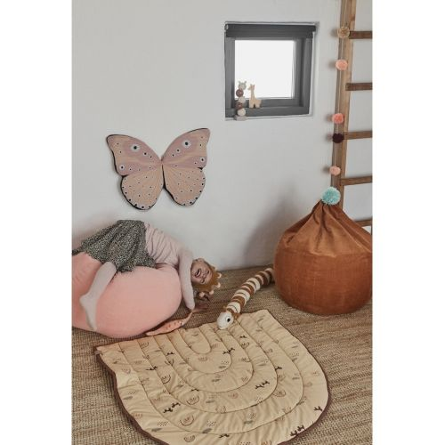 OYOY Sitzsack Corduroy Soft Pink
