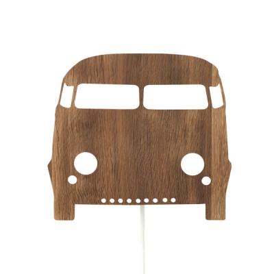 Ferm Living Wandlampe Auto, Naturholz