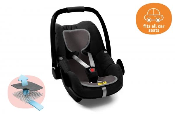 AeroMoov Air Layer, Sommerunterlage für Kindersitz Gr. 0+ - Grau