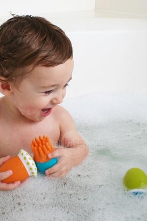 Boon Badespielzeug SCRUBBLE