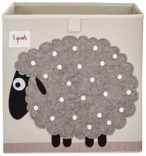 3 Sprouts Aufbewahrungsbox, Schaf