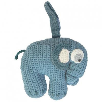 Sebra Musikdose, Elefant, Wolkenblau