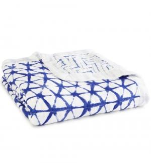 Aden Anais Kuscheldecke Silky Soft Dream Blanket - Indigo
