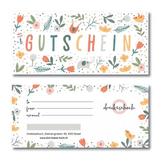 Drei-Käse-Hoch Gutschein, 400 Fr.