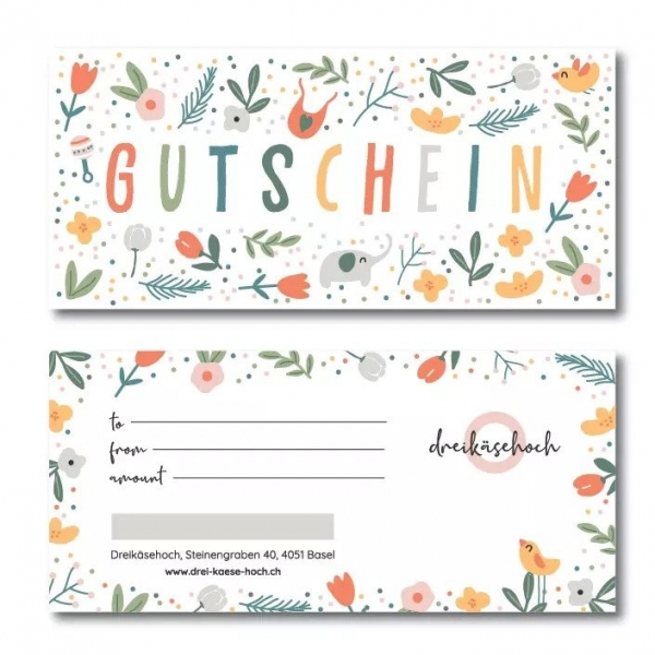Drei-Käse-Hoch Gutschein, 200 Fr.