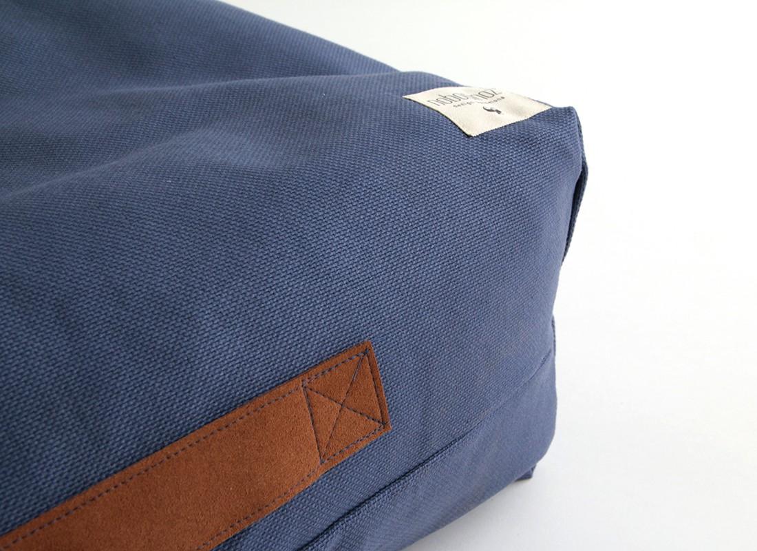 sitzsack aus jeans grijzemuren. Black Bedroom Furniture Sets. Home Design Ideas