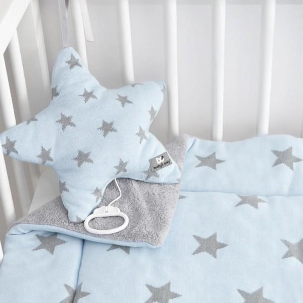 baby 39 s only spieldecke sterne blau. Black Bedroom Furniture Sets. Home Design Ideas