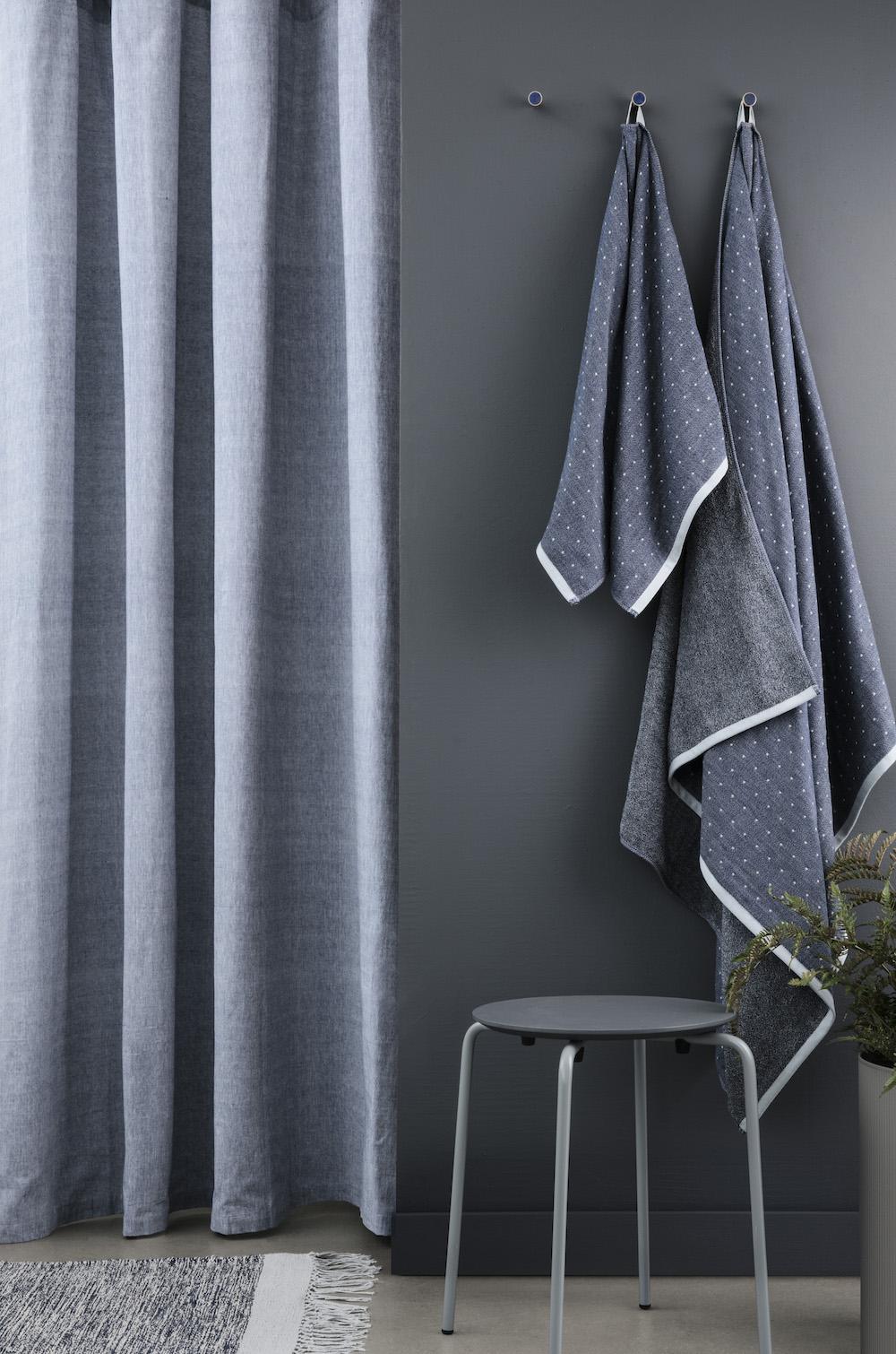 ferm living duschvorhang dreiecke. Black Bedroom Furniture Sets. Home Design Ideas