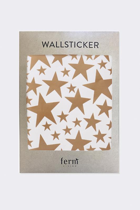 Ferm living wandsticker - Wandsticker gold ...