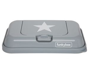 FunkyBox To Go, Grey White Star
