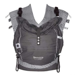 Snoozebaby Babytrage Kiss & Carry, Storm Grey