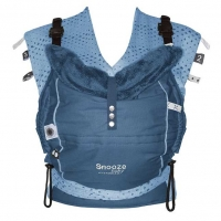 Snoozebaby Babytrage Kiss & Carry, Indigo Blue