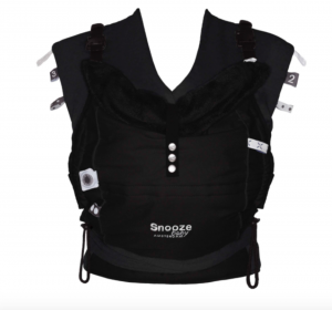 Snoozebaby Babytrage Kiss & Carry, All Black Edition