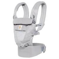 Ergobaby Adapt Cool Air Mesh Babytrage - pearl grey
