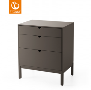 STOKKE Home Kommode Dresser, Hazy Grey