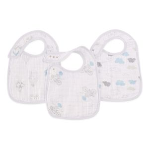 Aden + Anais Lätzchen Snap Bibs, 3er Pack - Night Sky Reverie