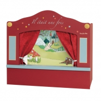 Moulin Roty Puppentheater aus Holz, klein