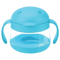 Ubbi Tweat Snack Container, Blau