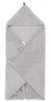 Snoozebaby Wickeldecke Trendy Wrapping, Lovely Grey