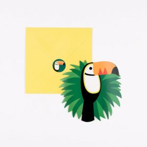 My Little Day Einladungskarten, Toucan 8 Stk.