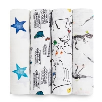 Aden Anais Mulltuch Swaddles, 4er Pack - Colour Pop