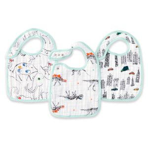 Aden + Anais Lätzchen Snap Bibs, 3er Pack - Colour Pop